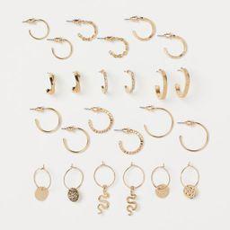 12 Pairs Earrings | H&M (US)