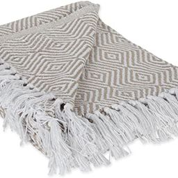 DII 100% Cotton Geometric Daimond Throw for Indoor/Outdoor Use Camping BBQ's Beaches Everyday Bla...   Amazon (US)