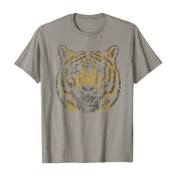 Vintage Tiger Face Tiger Head Wild Cat Lover Gift T-Shirt   Amazon (US)