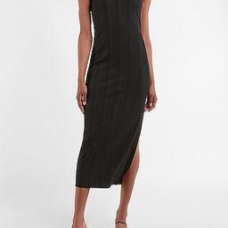 Sleeveless Ribbed Knit Maxi Dress   Express