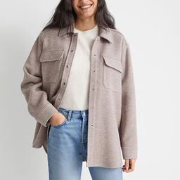 Oversized Wool Blend Overshirt   & Other Stories