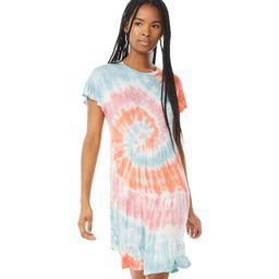 Scoop Women's Tiered Tie-Dye Dress | Walmart (US)