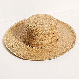 Island Palma Boater Hat | Free People (US)