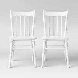 Set of 2 Hassell Wood Dining Chair - Threshold™   Target
