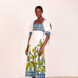 vase forest maxi dress | FarmRio