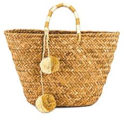 KAYU St. Tropez Tote in Natural from Revolve.com | Revolve Clothing (Global)
