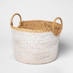 Basket With Round Handles Large - Threshold™ | Target