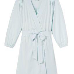 DreamKnit Robe in Coastal Blue | LAKE Pajamas