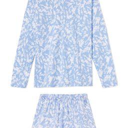 Pima Long-Short Weekend Set in Twiggy | LAKE Pajamas