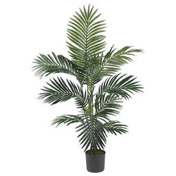 Nearly Natural48-in Artificial Silk Tree Trees | Lowe's
