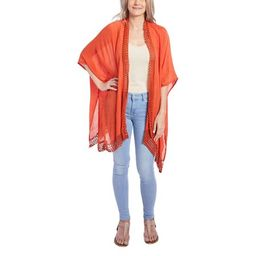 Red Beach Cover-ups Lace Kimono Dress for Women Casual Summer Swimsuit Cover Up Online by Oussum | Walmart (US)