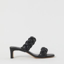 Braided Slip-in Sandals | H&M (US)