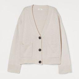 Knit Cardigan   H&M (US)