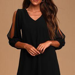 Shifting Dears Black Long Sleeve Dress | Lulus (US)