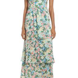 V-Neck Tiered Dress | Nordstrom
