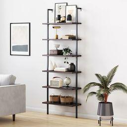 """Dawud 85"""" H x 30"""" W Metal Ladder Bookcase   Wayfair North America"""