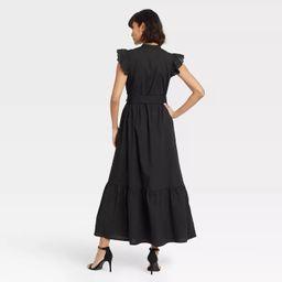 Women's Ruffle Short Sleeve A-Line Dress - Who What Wear™   Target