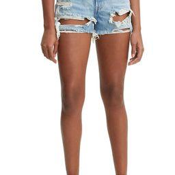 501® High Waist Ripped Cutoff Denim Shorts | Nordstrom