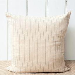 Ynez Pillow - Natural Stripe   Jenni Kayne   Jenni Kayne