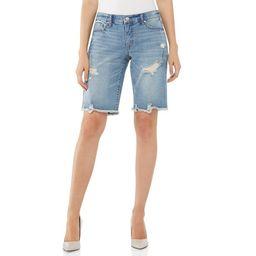 Scoop Women's Bermuda Denim Shorts | Walmart (US)
