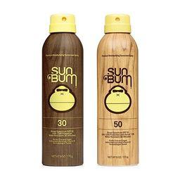 Sun Bum Sun Bum Original Spf 30 and 50 Sunscreen Spray Vegan and Reef Friendly (octinoxate & Oxyb... | Amazon (US)