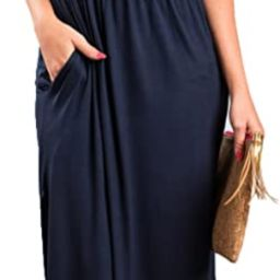 Womens Off The Shoulder Ruffle Party Dresses Side Split Beach Maxi Dress   Amazon (US)