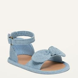 Bow-Tie Textile Sandals for Baby | Old Navy (US)