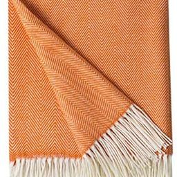 Bourina Decorative Herringbone Faux Cashmere Fringe Throw Blanket Lightweight Soft Cozy for Bed o...   Amazon (US)