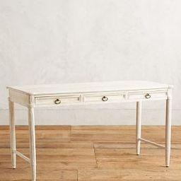 Washed Wood Desk   Anthropologie (US)