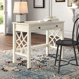 Coralie Solid Wood Desk   Wayfair North America