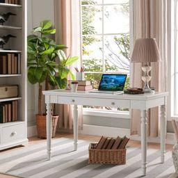 Craner Turned Leg Desk   Wayfair North America