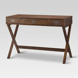 Campaign Wood Writing Desk with Drawers - Threshold™   Target