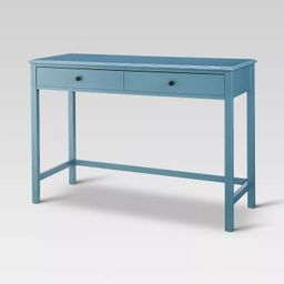 Windham Wood Writing Desk with Drawers - Threshold™   Target