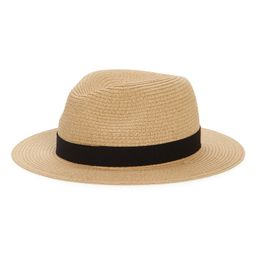 Packable Straw Fedora Hat | Nordstrom