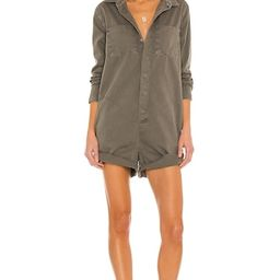 One Teaspoon Prophecy Jumpsuit in Dark Khaki from Revolve.com   Revolve Clothing (Global)