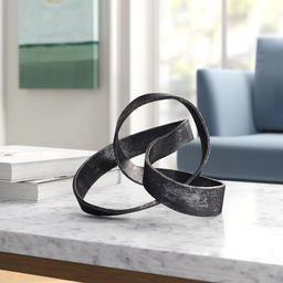 Samara Aluminum Knot Sculpture | Wayfair Professional