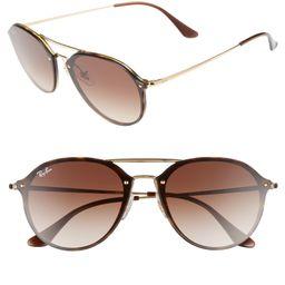 62mm Gradient Lens Aviator Sunglasses | Nordstrom