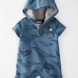 Organic Cotton Hooded Sunsuit | Carter's