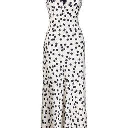 polka dot maxi dress   Farfetch (US)
