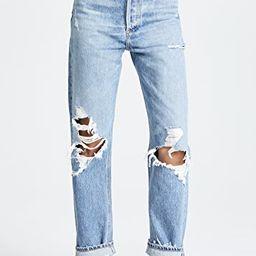 '90s Fit Mid Rise Loose Fit Jeans | Shopbop
