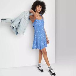 Women's Sleeveless Tie-Strap Drop Hem Dress - Wild Fable™ | Target