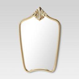 Gilded Decorative Wall Mirror Brass - Opalhouse™ | Target
