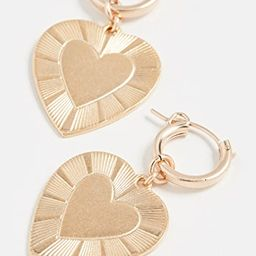 The Best Is Yet To Come Huggie Earrings | Shopbop