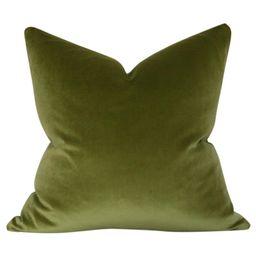 Olive Green Velvet | Arianna Belle