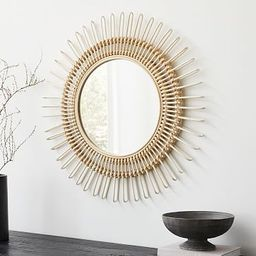 Elinor Rattan Wall Mirror | West Elm (US)