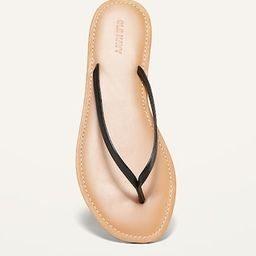Faux-Leather Capri Sandals for Women | Old Navy (US)