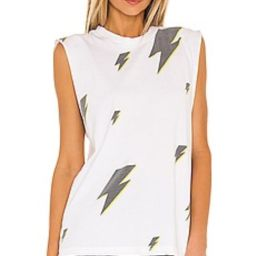 SIXTHREESEVEN Vintage Graphic Tank in Shocking from Revolve.com   Revolve Clothing (Global)