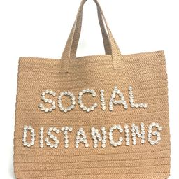 Social Distancing Straw Tote | Nordstrom