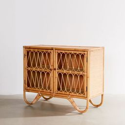 Melody Rattan Storage Cabinet   Urban Outfitters (US and RoW)