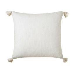 Ryegate Tassel Square Cotton Pillow Cover   Wayfair North America